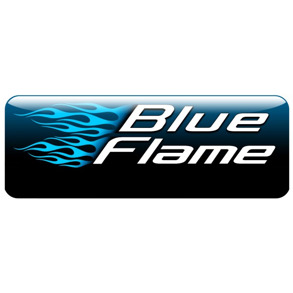 BLUEFLAME POWDER BLACK RADIATOR COVER BMW F650GS 2008-2012