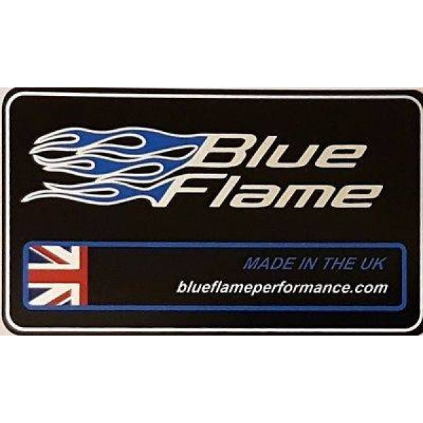 Exhaust Silencer Label Sticker -Large UK