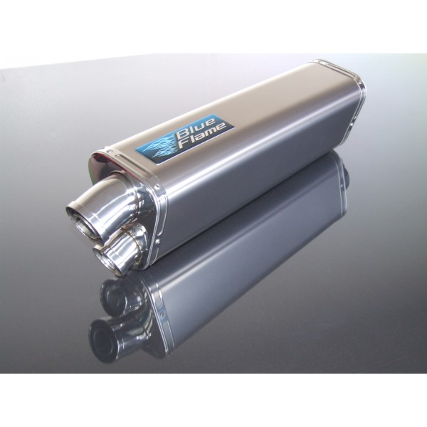 TRIUMPH 955i SPRINT RS 1999-2004 BLUEFLAME STAINLESS STEEL TRI-OVAL EXHAUST